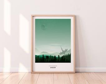 Endor | Film | Poster | Illustration