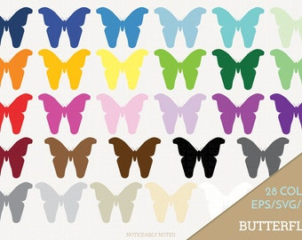 Butterfly Vector, Butterflies Clipart, Butterfly Art, Insect SVG, Bug PNG  (Design 13759)