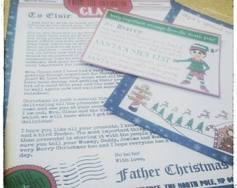 Personalised letter from Santa package - free postage