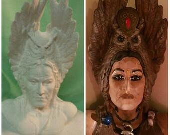 Transgender Ceramic Goddess Athena