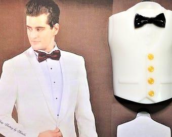 Tuxedo Soap-Tux Soap-Dinner Jacket Soap-Men's Gift-Party Favor-Gift for Him