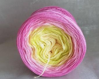 "Color gradient yarn ""Orchid"""