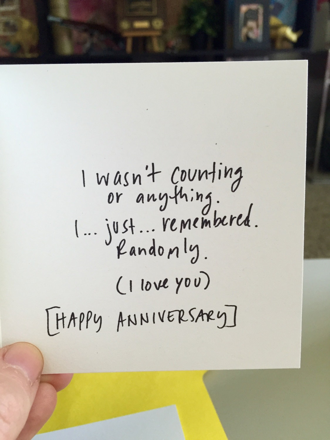 One Year Anniversary Card For Her Card For Boyfriend 365