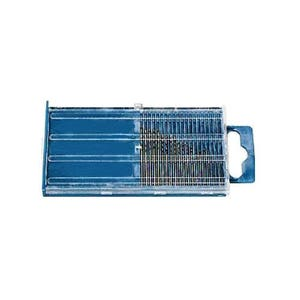 High Speed Drill Bit Set Size 61-80 - 20 Piece for Crafter and Jewelers - Jewelry Tool -