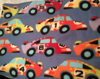 Sports Cars Lime Fleece  Pet Liner 30x18 Pad Crate Mat Cage Liner C&C Cages 2 layer Fleece Pad