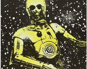 Star Wars C3po (20th Century Fox, 1978). Polish Poster / print