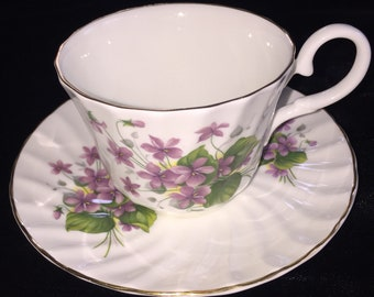 Royal Stuart, Tea Cup and saucer, vintage, bone china, made in England