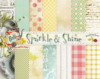 Sparkle and Shine Paper Set