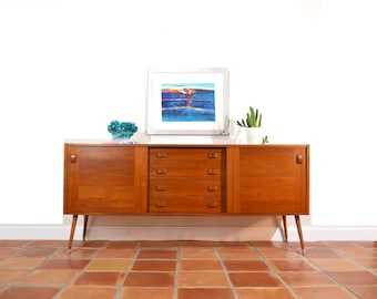 Danish Modern Credenza or Buffet by Domino Mobler