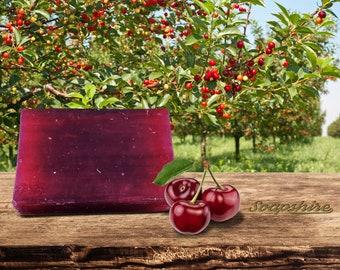 Cherry Handmade Soap - Shiny Care (20gr, 100g, Promotion, Wholesale)