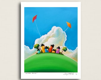 Gather Round - a neighborhood picnic - Limited Edition Signed 8x10 Semi Gloss Print (4/10)