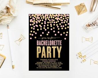 Shimmer & Shine Bachelorette Party Invitation