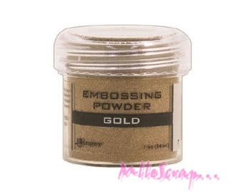 Embossing powder gold Ranger scrapbooking card making *.