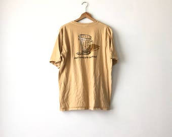 BEER SHIRT // 90s // Large // Beer Shirt // Beer T-Shirt // Beer Shirt // Funny Shirt // Hilarious Shirt // Beer Shirt // Beer // Gag Shirt