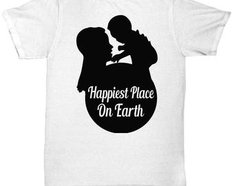Happiest Place On Earth Tee Shirt- Cool Tee Shirt Graphic Design