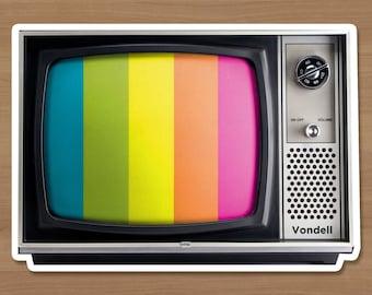VHS Technicolor Sticker