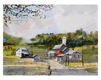 Farm, Warren County New Jersey