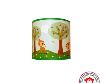 "Child lamp ornament ""Bambi walk"""