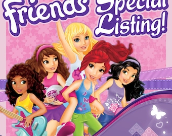 Lego Friends - Special Listing - Amusement Park invite
