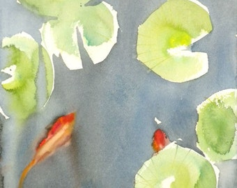 Koi Fish No.12, limited edition of 50 fine art giclee prints