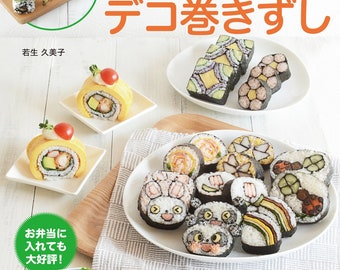 "Japanese Cook Recipe Book""Cute Deco Rolling Sushi""[4865461337]"