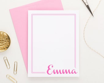 Personalized Stationery // Personalized Stationary // Kids Stationery // Thank you cards // Personalized Note Cards, KS014