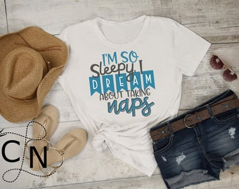 SVG, Sleepy, Mother, Exhausted, Sarcastic, DXF, EPS, Cutting File, Shirt Design, Cricut, Silhouette, Commercial Use, Instant Download, FIle