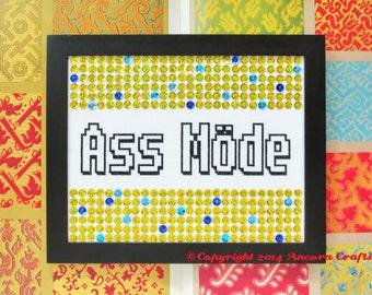 Craig Ferguson Ass Mode Cross Stitch Pattern PDF