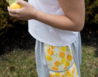 Evie's Lemonade Stand Girls Skirt