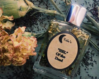 GODDESS HEL Ritual Anointing Oil, Ritual Perfume Oil, Anointing Oil, Witchcraft, Pagan