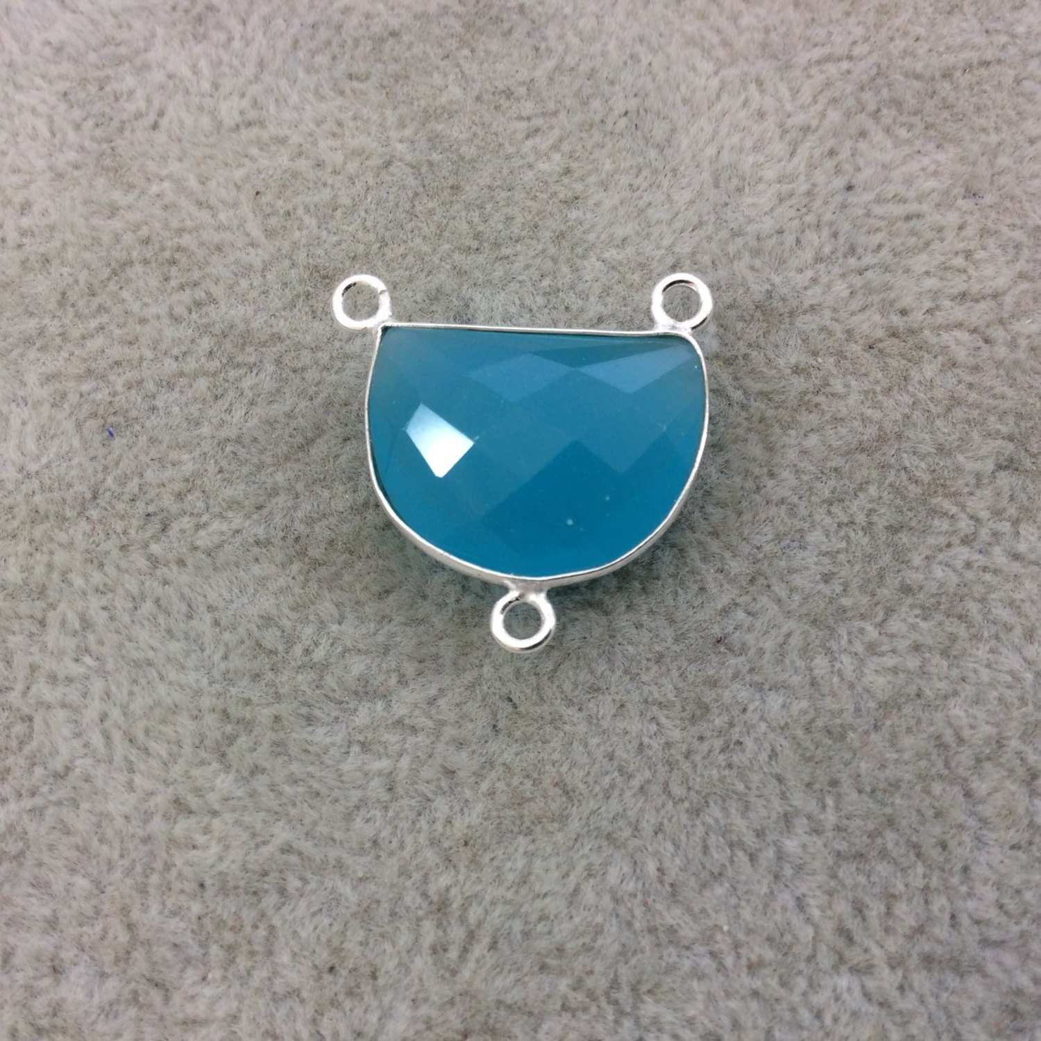 Supplies,gemstone,stone,sterling,silver,faceted,bezel,pendant ...