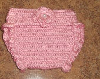 Newborn Crochet Diaper Cover