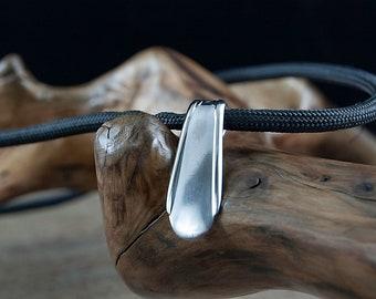 Silverware Handle Pendant Necklace NC023