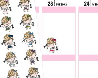 Jenni Fitness Planner Stickers, Fitness Stickers, Workout Stickers, Lifting Stickers, Cute Stickers