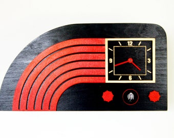 Modern Cuckoo Clock,A Black Clock in the Form of an Old Radio, A Clock Where the Bird Gives a Signalod Clock