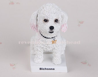 Custom dog bobblehead doll. funny gifts, birthday gifts ,Pet statue