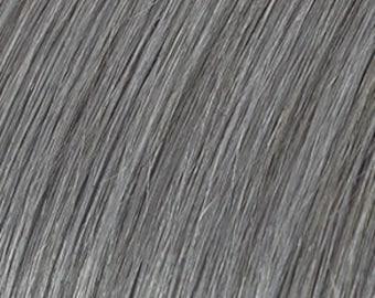 "Grey Nano 100% Human Remy Hair Extensions  20"" Double Drawn 100grams"