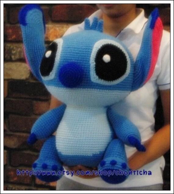 Stitch 20 Inches Pdf Amigurumi Crochet Pattern