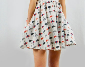 Topsy Turvy Cups Dress