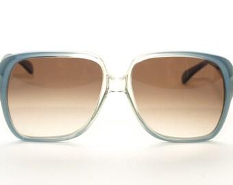 Big Sunglasses, Oversized Sunglasses, Menrad Sunglasses, Sunglasses, Glasses, Large Sunglasses, Blue, Square Sunglasses - 1970s / 1980s