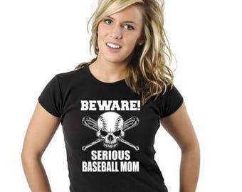 Baseball Mom's Tees