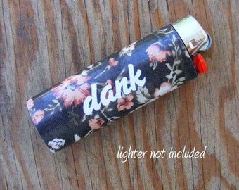 Dank Vinyl Sticker for Lighters Waterproof for bic, wrap, skin, cover, smoke weed, pot, bic, 420