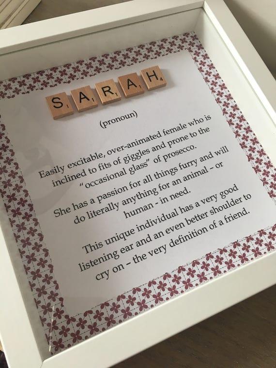 Personalised Definition Of Mum Print: Personalised Name Definition Frame Personalised Name Frame