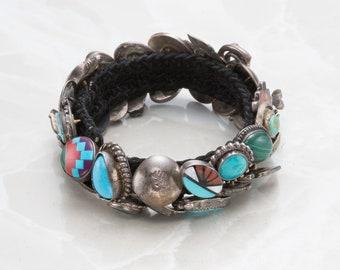 Native-American Styled Button Bracelet