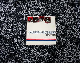 "Young Pioneers - On Trial -  Vintage Vinyl 45 7"" Record. Rare Lookout Records 179. Rare Folk Punk  90s Pop Punk Garage Rock"