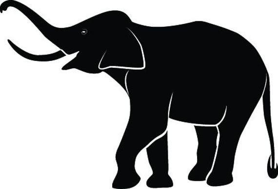 elephant svg elephant vector elephant clipart rh etsy com elephant vector images elephant vector free download