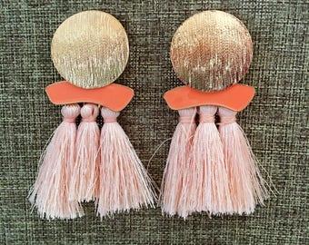 Tassel Earrings - Tassel Boho Earrings Threader Earrings