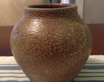 Small high-fired vase