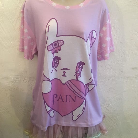 Painfully Hurt Abby Bunny Conversation Heart Shirt, KILL ME