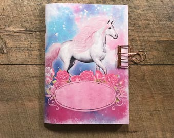 Unicorn Travelers Notebook Insert - Midori Insert - TN Insert - Scrapbooking Insert - Planning Insert - Art Journaling Insert - Various Size